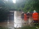 Bleskov� povode� v Blatnic�ch u N��an  (9. �ervna 2013)