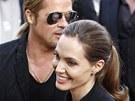 Brad Pitt a Angelina Jolie v Pa��i (3. �ervna 2013)