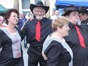Písecká brána nabídla bohatý program, tančilo se a zpívalo celý den.