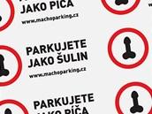 Samolepky machoparking.cz