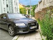 Projekt Macho Parking kárá bezohledné řidiče, kteří parkují tak, že omezují