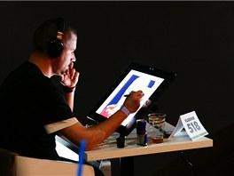 První české setkání Real Art Wrestling - Vladimir 518 při práci