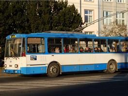 V Ostrav� se jako v jednom z m�la tuzemsk�ch m�st poda�ilo udr�et trolejbusovou