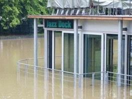 Jazz Dock po povodni 2013