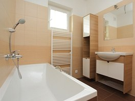 Koupelna domu postaveného za 24 hodin.