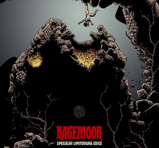Plakát k limitované edici českého vydání komiksu Ragemoor