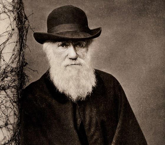 Charles Darwin v roce 1881