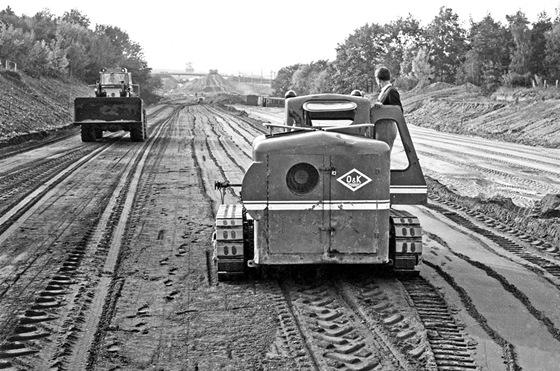 Úprava dálniční pláně (1968)