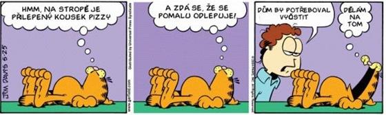 Komiksový Garfield slaví 35. narozeniny