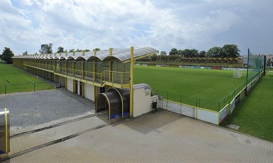 Na �tuln�m stadionku v Holici se bude hr�t jen MSFL...