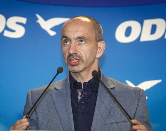 Vedení ODS se ujal její první místopředseda Martin Kuba.