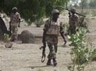 Nigerij�t� voj�ci. Ilustra�n� foto