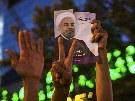 Hasan R�h�n� se 15. �ervna 2013 stal nov�m prezidentem �r�nu.