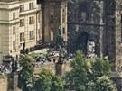 Pohled na Prahu z Petřína. Snímek je pořízený z největší panoramatické