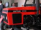 Slavn� v�robce traktor� si otev�el muzeum. V Zetor Gallery jsou k vid�n�