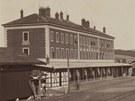 Severozápadní dráha - Nádraží v Jihlavě v roce 1871, krátce po dokončení