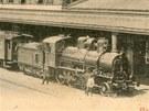 Severozápadní dráha - Nádraží ve Znojmě kolem roku 1900