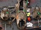 Letoun na dně kanálu La Manche nedaleko hrabství Kent objevili potápěči už v
