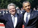 Joachim Gauck a Barack Obama (19. �ervna)