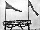 Slavnostní zahájení stavby českých dálnic 2. května 1939
