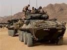Americká námořní pěchota na vojenském cvičení Eager Lion v Jordánsku
