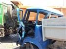 Nehoda v �st� nad Orlic�.