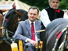 Petr Ne�as nav�t�vil v srpnu 2010 �eskobud�jovick� veletrh Zem� �ivitelka....