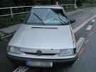 N�raz vozu do neopatrn�ho chodce byl devastuj�c�.