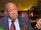 Alexej Leonov p�i rozhovoru pro RT v p�tek 14. �ervna 2013