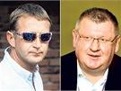 Roman Janoušek a Ivo Rittig