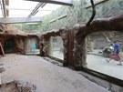 Pohled do expozice z prostoru pro návštěvníky (13. 6. 2013)