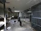 Ložnice v Pavilonu goril teď potřebují pořádně vysušit. (13. 6. 2013)