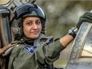Ayesha Farooqová je jedinou Pákistánkou, která se může v kokpitu bitevníku