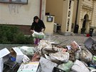 Blesková povodeň v neděli večer vyplavila Pizzerii Peppino v Pacově. V pondělí