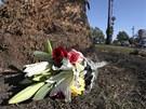 Na místě dopravní nehody na předměstí Los Angeles, při které zahynul uznávaný
