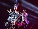 Legend�rn� hardrockov� kapela Kiss vystoupila 14.6. 2013 v pra�sk� O2 ar�n�.