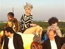 Klára Vytisková při natáčení singlu Country Girl projektu KLARA.