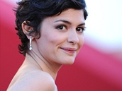 Herečka Audrey Tautou na festivalu v Cannes (2013)