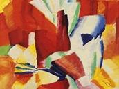 Franti�ek Kupka, Studie na �erven�m pozad�