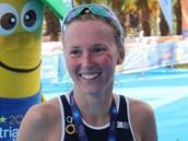 Vendula Frintová získala na mistrovství Evropy v olympijském triatlonu