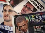 Fotografie Edwarda Snowdena se po víkendovém odhalení objevila na titulních