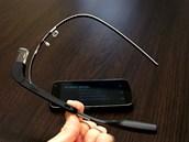 Celá sestava brýlí je překvapivě lehká a ačkoliv je veškerá hmota soustředěna...