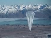 Projekt Google Loom má přinést internet na balónech i tam, kde doposud nebyl.