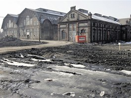 Ostravské Trojhalí před zahájením rekonstrukce.