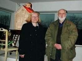 Eva a Jan Švankmajerovi před zahájením 30. ročníku Rotterdamského filmového