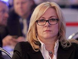 Jana Nagyov�,  vrchn� �editelka premi�rova kabinetu