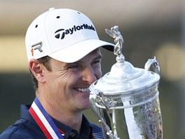 Justin Rose coby vítěz golfového US Open