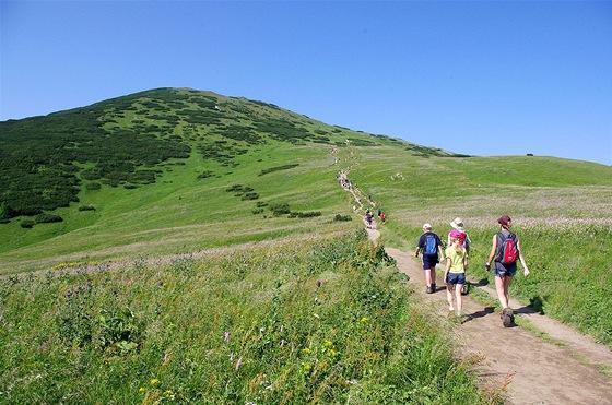 Výstup na Veľký Kriváň (1709 m)