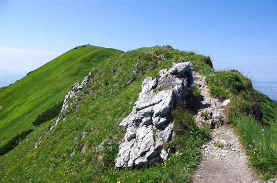 Vrchol Malého Kriváně (1671 m)