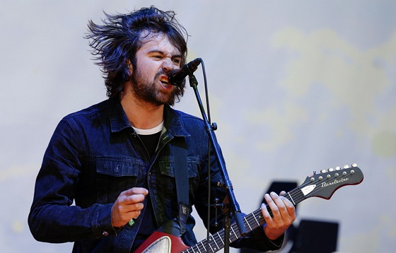 Glastonbury 2013 - Justin Young (The Vaccines)